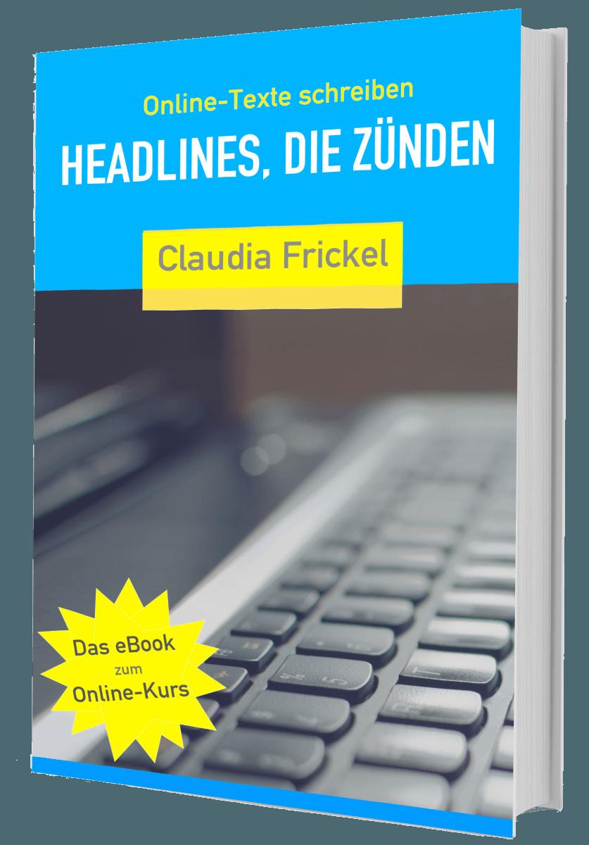 eBook: Headlines, die zünden - Online-Text-Coach