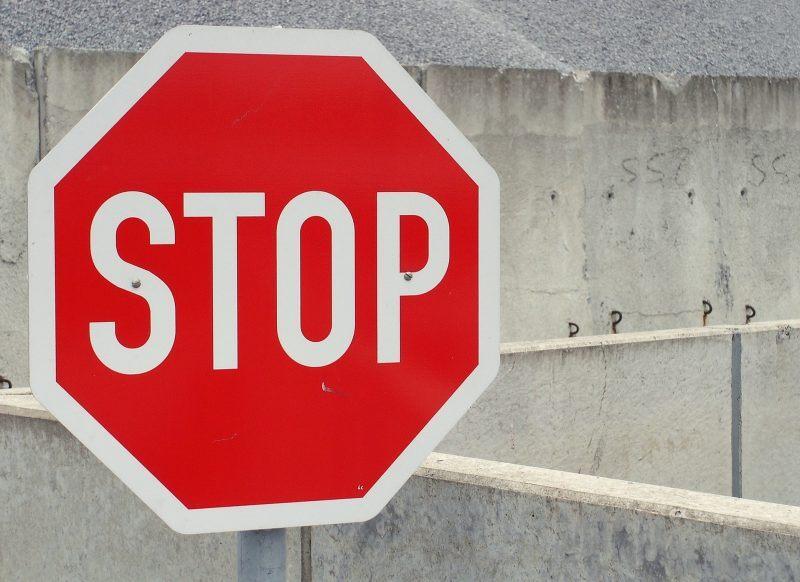 Stoppschild - die schlimmsten Fehler in der Headline
